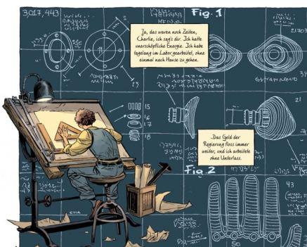 Doctor Star, Splitter Verlag, Ausschnitt Seite 14