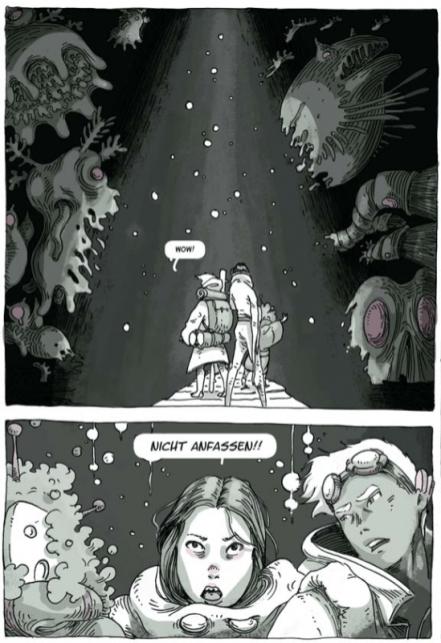 Grün 2, Splitter Verlag, Ausschnitt Seite 11