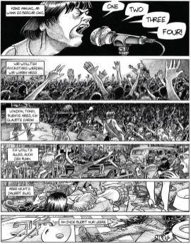 One, Two, Three, Four, Ramones; Seite 5, Éric Cartier/Knesebeck Verlag