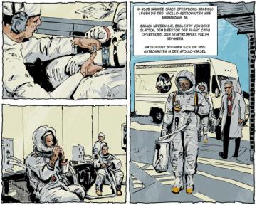 Der zweite Mann, Auschnitt Seite 8, Splitter Verlag