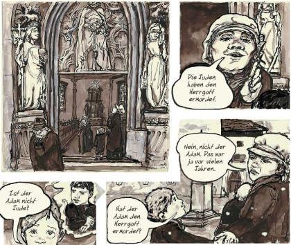 Die Judenbuche, Knesebeck Verlag, Ausschnitt Seite 29