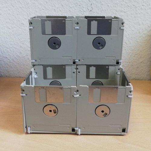 Diskettenbox XXL