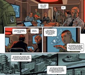 EXO 3, Ausschnitt Seite 7, Splitter Verlag