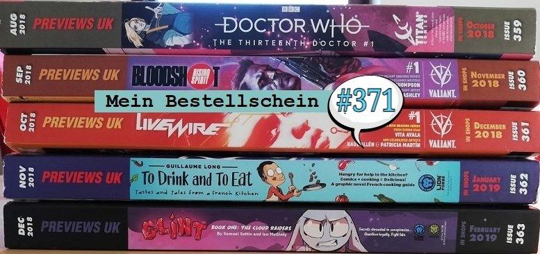 [ Previews ] #371 Bestellschein