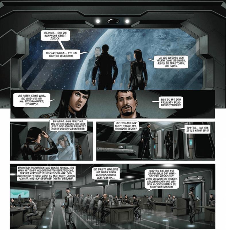 Conquest - Islandia, Ausschnitt Seite 9, Splitter Verlag