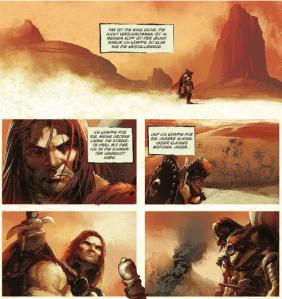 Berserker Unbound, Splitter Verlag, Ausschnitt Seite 9