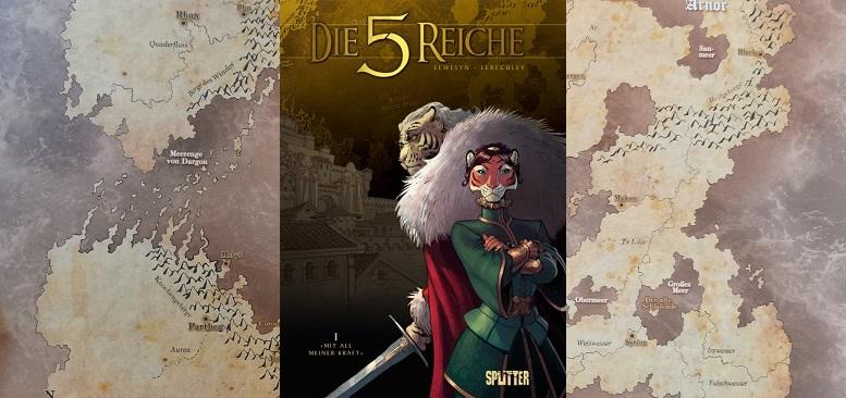 Die 5 Reiche – 1 Mit all meiner Kraft +Rezension+