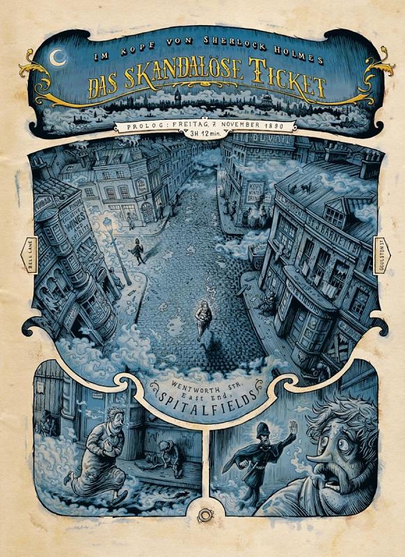 Im Kopf von Sherlock Holmes, Splitter Verlag, Seite 1