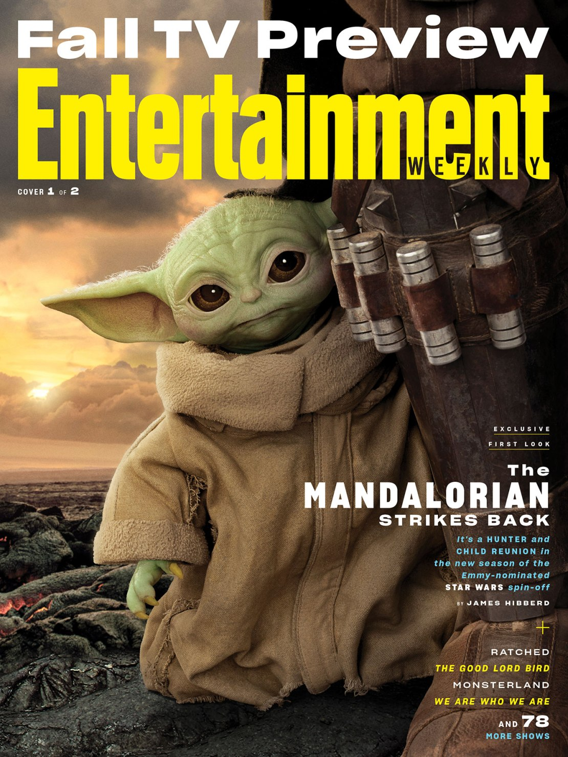 EW Weekly The Mandalorian Cover The Child