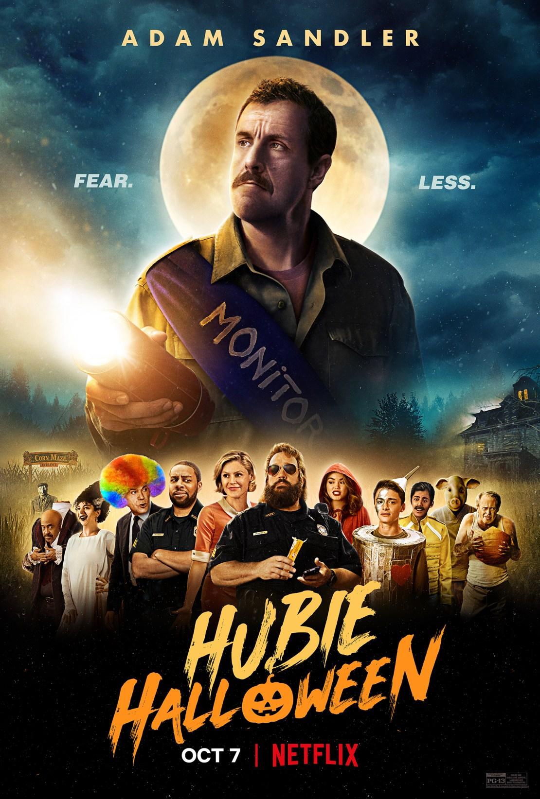 Hubie Halloween Movie Poster