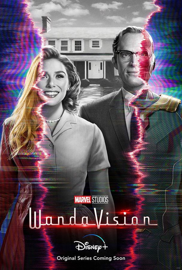 WandaVision Disney+ Poster
