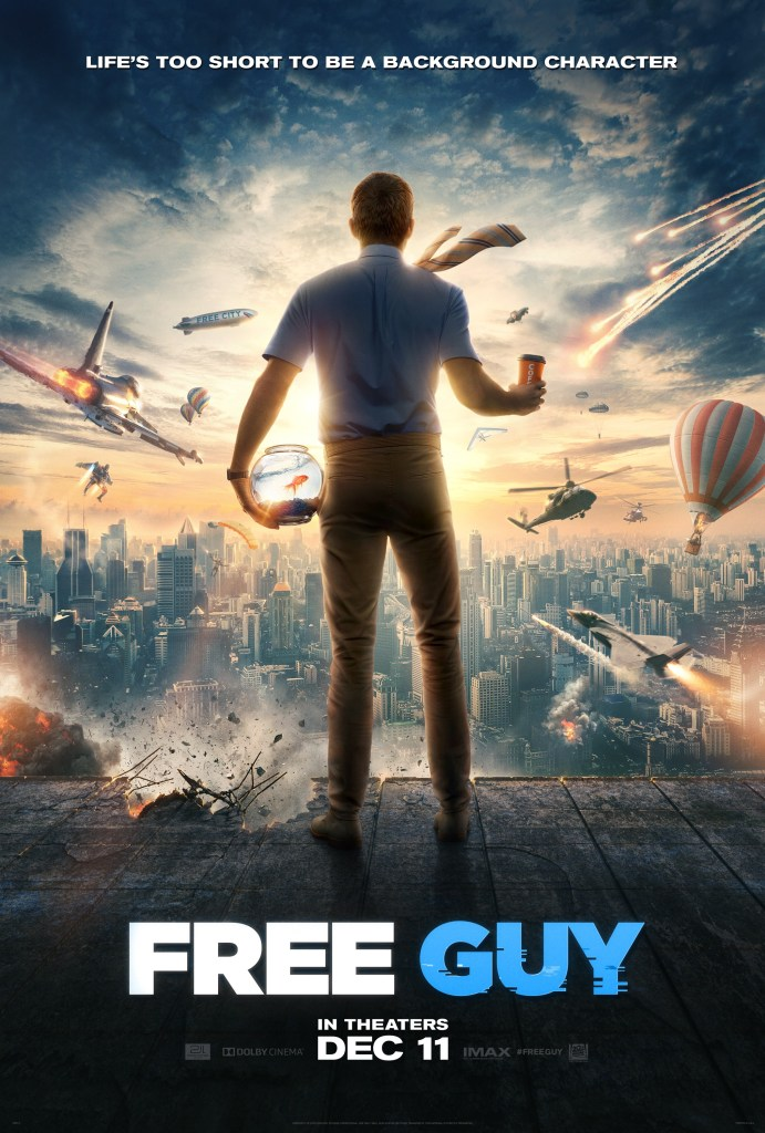 Free Guy Movie Poster