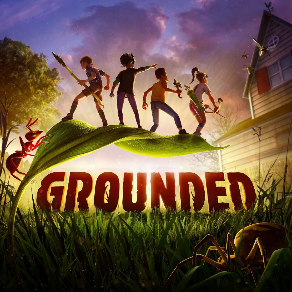 Grounded Poster Video Game Review