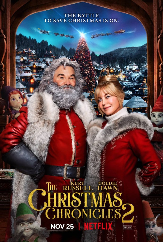 Kurt Russell and Goldie Hawn The Christmas Chronicles