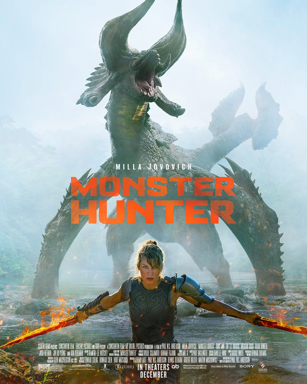 Monster Hunter Movie Trailer