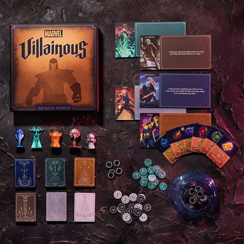 Marvel Villainous Board Game Set Up
