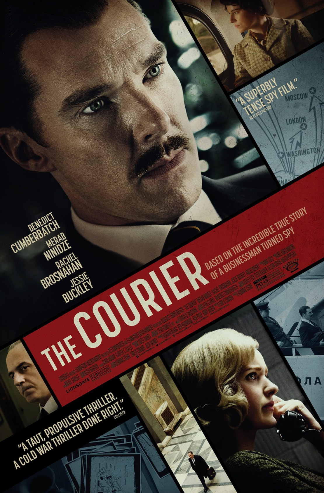 The Courier Movie Poster