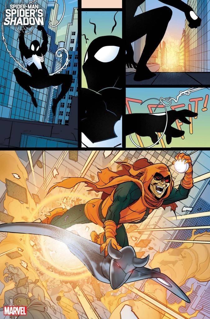 Spider-Man: Spider's Shadow Comic