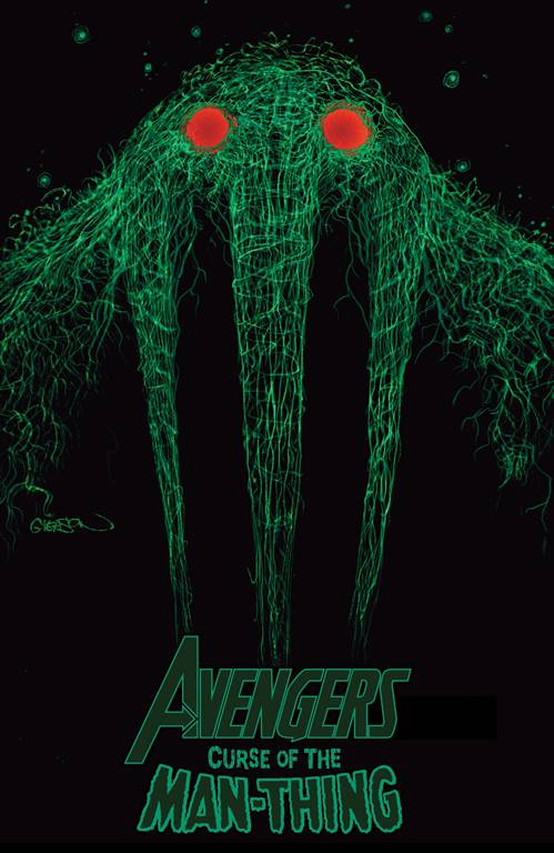 Patrick Gleason Avengers: Curse Of The Man Thing