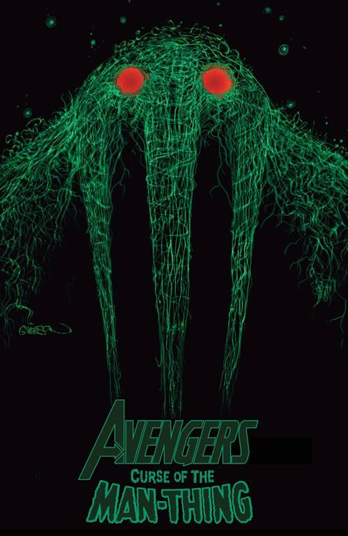 Patrick Gleason Avengers: Curse Of The Man Thing