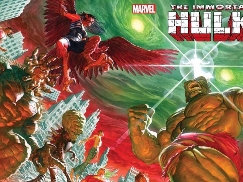 Immortal Hulk 50 Alex Ross