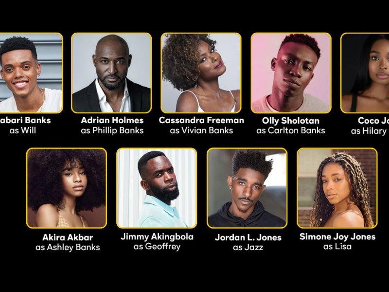 Bel-Air Reboot Cast