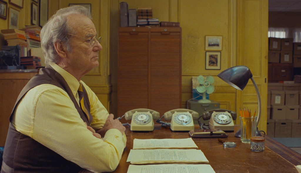 Wes Anderson Bill Murray The French Dispatch