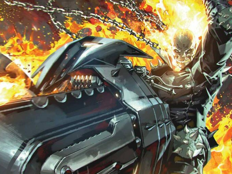 Ghost Rider 50th Anniversary Cover