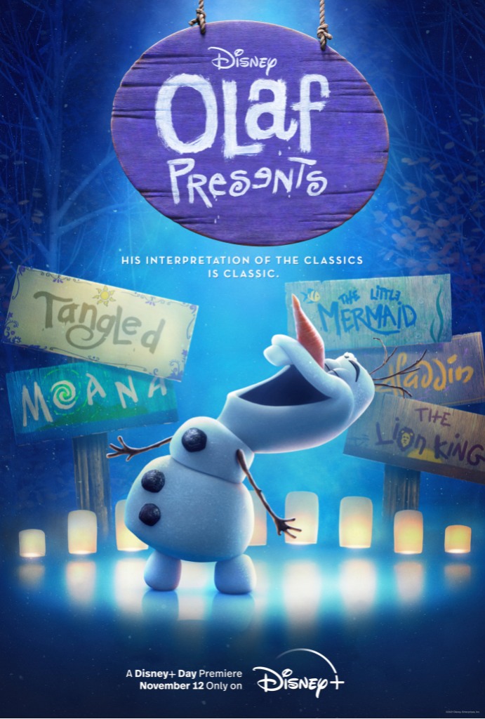 Olaf Presents Poster