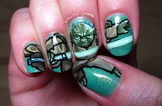 Yoda Nails