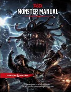 Dungeons and Dragons 5th Edition – Monster Manual