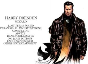 Famous Wizards of Distinction: Backgrounds and Spells of Magic Users – Harry Dresden