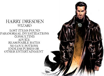 Famous Wizards of Distinction: Backgrounds and Spells of Magic Users - Harry Dresden
