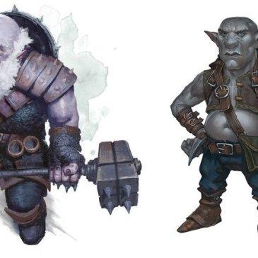 5E D&D duergar svirfneblin dark dwarves deep gnomes
