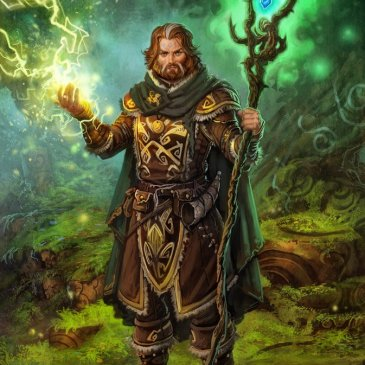 5E D&D druid magic cantrip