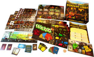 Board Games in Review – Dungeon Lords