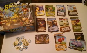 Board Games in Review – Smash Up – Munchkin Part 1