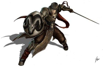 D&D fighter