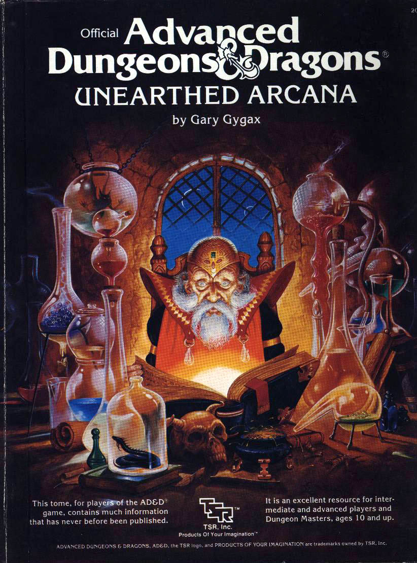 It's time for a 5e D&D Unearthed Arcana book