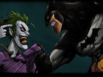 Joker vs Batman rivalry