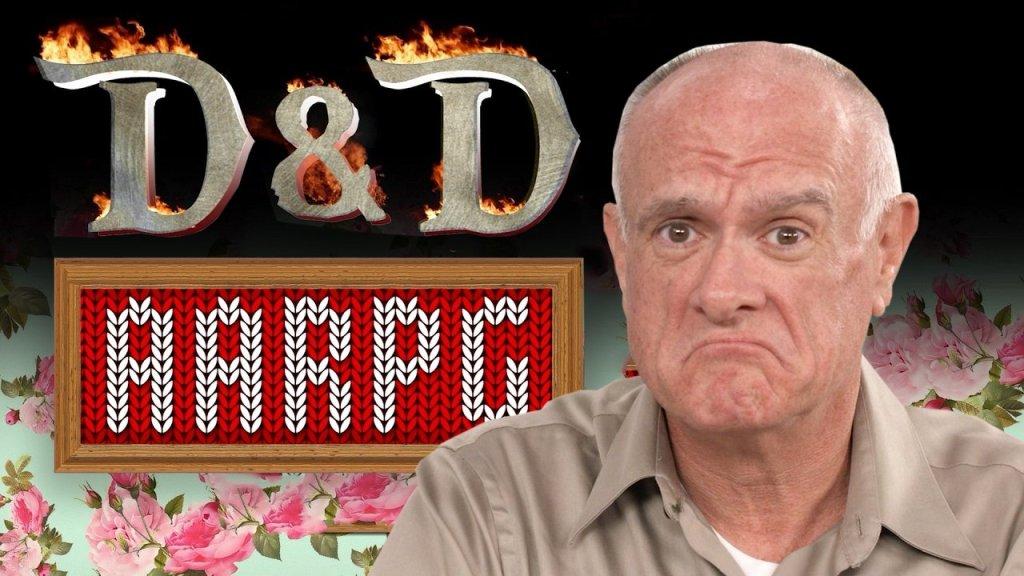 5E D&D senior gamers