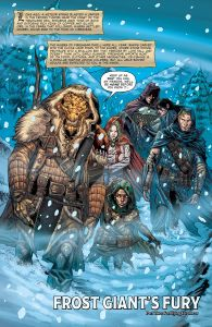 Frost Giant's Fury comic