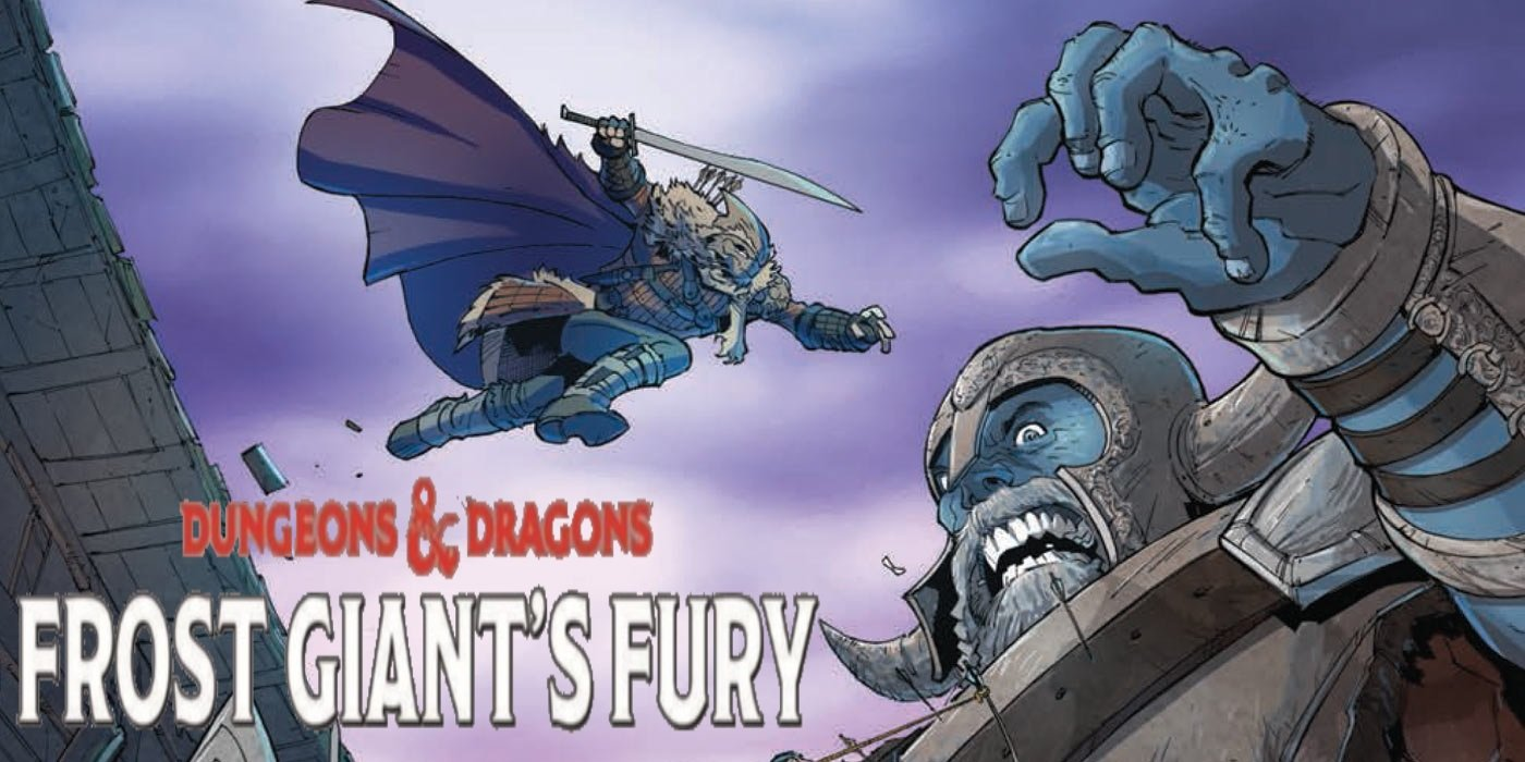 IDW D&D Comic Book – Frost Giant's Fury