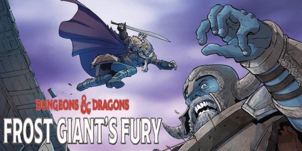 D&D frost giants comic
