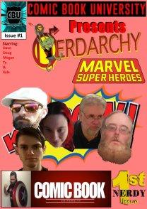 Nerdarchy comic book No. 1, page 0