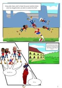 Nerdarchy comic book No. 1, page 2