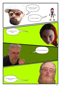 Nerdarchy comic book No. 1, page 4