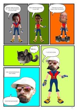 Nerdarchy comic book No. 1, page 7