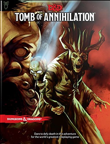 D&D Adventure Awaits with Tomb of Annihilation and More