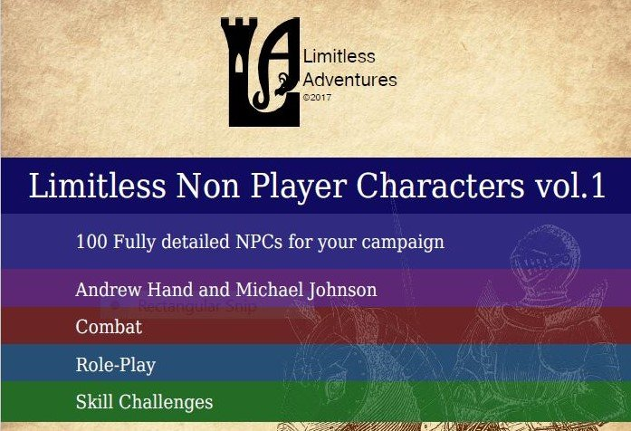 D&D Product Review: Limitless NPCs Vol.1